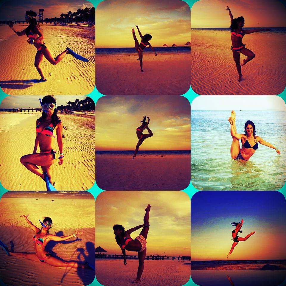 bailarin playa